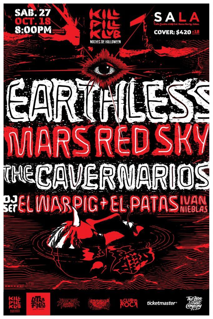 El regreso de Earthless a México
